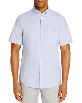 Vineyard Vines - Dragonfish Slim Fit Short-Sleeve Button-Down Shirt