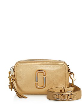 MARC JACOBS - Softshot Pearlized Leather Crossbody