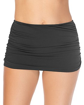 Magicsuit - Solid Shirred Skirted Bottom