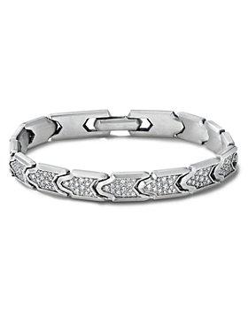 David Yurman - Link Bracelet with Pavé Diamonds