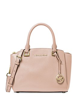 MICHAEL Michael Kors - Maxine Small Leather Messenger Bag