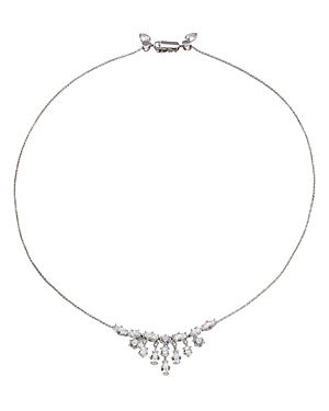 Nadi Frolic Cubic Zirconia Adjustable Statement Necklace, 20