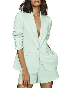 REISS - Lana Plisse Jacket
