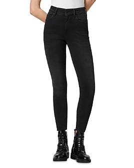 ALLSAINTS - Phoenix Super-Stretch Jeans in Soft Black