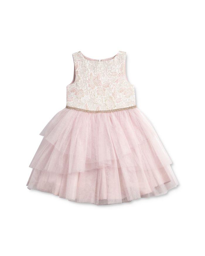Pippa & Julie Girls' Brocade-Bodice Tutu Dress - Little Kid, Big Kid  | Bloomingdale's