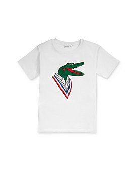 Lacoste - Boy's Graphic Tee - Little Kid, Big Kid