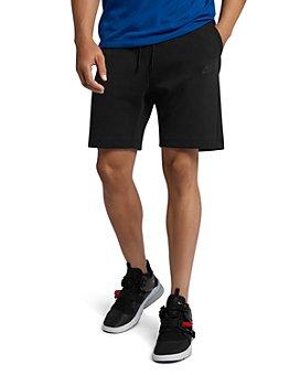 Nike - Sportswear Tech Fleece Cotton-Blend Shorts