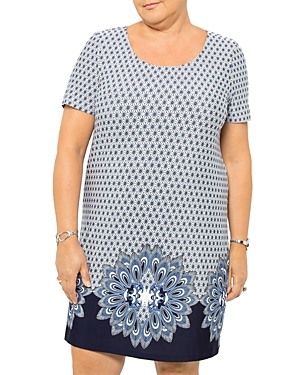 Geo Ocean Printed Dress
