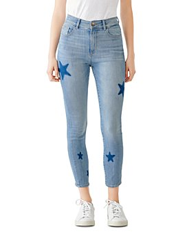 DL1961 - Florence Mid-Rise Star Skinny Jeans in Warren