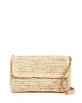 KAYU - Marni Mini Baguette Straw Shoulder Bag