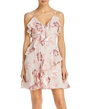 Rebecca Taylor - Fleur Faux-Wrap Dress