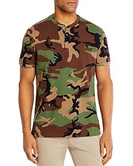 Polo Ralph Lauren - Cotton Mesh Camouflage Henley