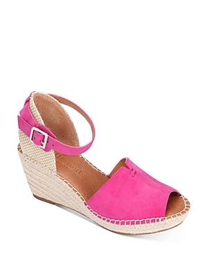 Gentle Souls Charli Ankle Strap Platform Wedge Sandals