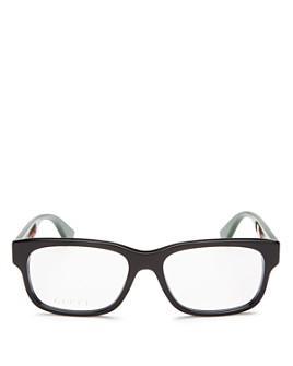 Gucci - Men's Rectangle Optical Glasses, 57mm