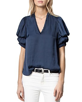 Zadig & Voltaire - Puffed Sleeve Top