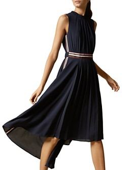 Ted Baker - Damsia Dip-Hem Midi Dress