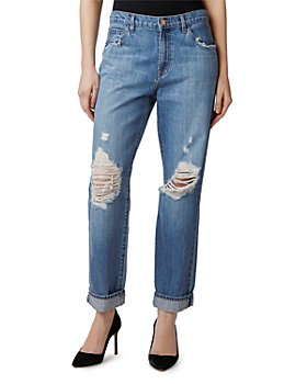 J Brand - Tate Ripped Jeans in Sensa Destruct
