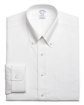 Brooks Brothers - Solid Regular Fit Dress Shirt