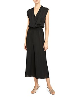 Theory - Draped Silk Jumpsuit