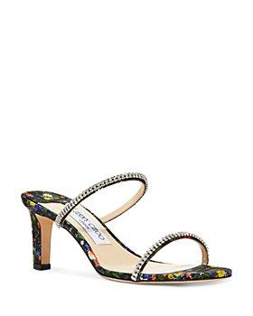 Jimmy Choo - Women's Brea 65 High Heel Crystal Strap Sandals