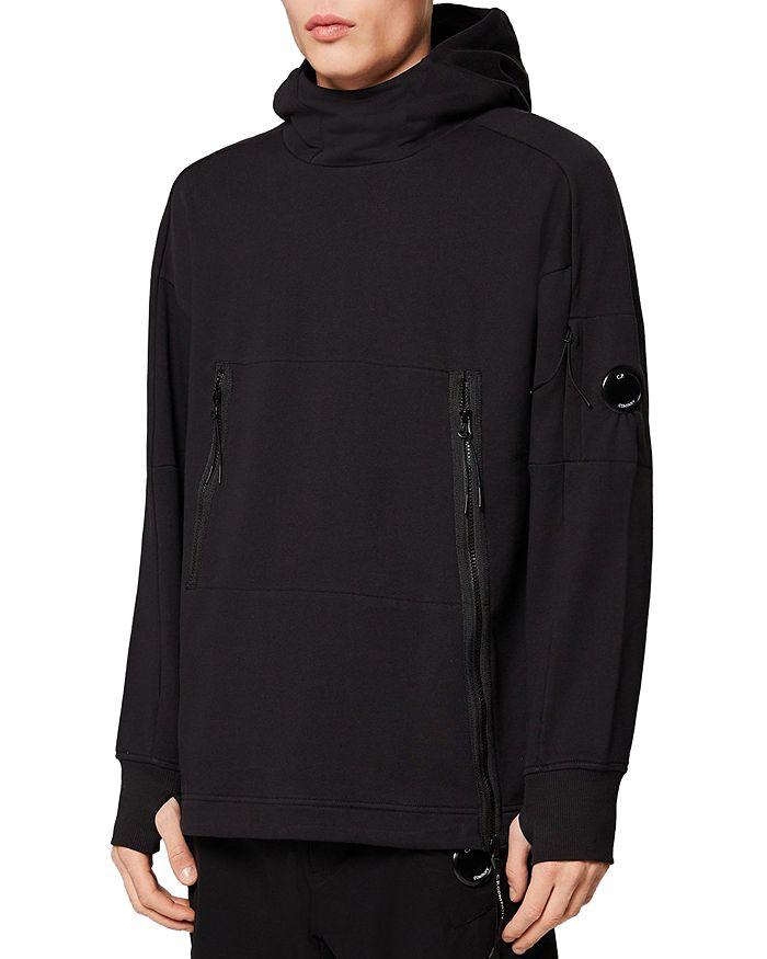 C.P. Company - Diagonal Cotton Fleece Hooded Sweatshirt
