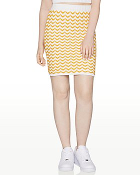 BCBGeneration - Chevron-Knit Mini Skirt