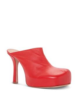 Bottega Veneta - Women's Bold Round Toe Mules