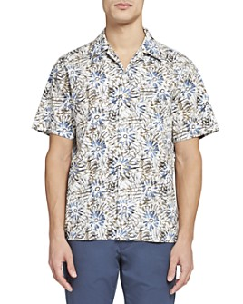 Theory - Floral Camp Shirt