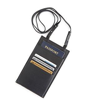 ROYCE New York - Hanging Passport Travel Organizer
