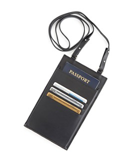 ROYCE New York - Hanging Passport Travel Organizer
