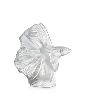 Lalique - Fighting Fish Figure