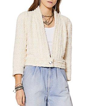 IRO - Cadan Cropped Tweed Jacket