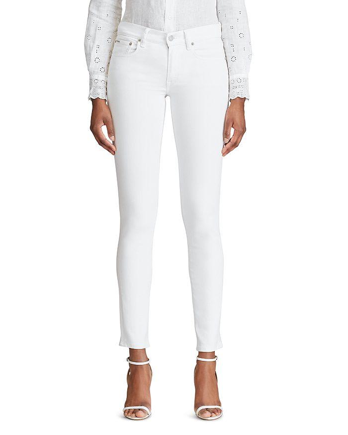 Ralph Lauren - Tompkins Skinny Jeans in White