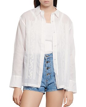 Sandro - Aneli Embroidered Shirt