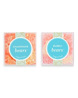 Sugarfina - Champagne Bears + Bubbly Bears Large Cube Bundle