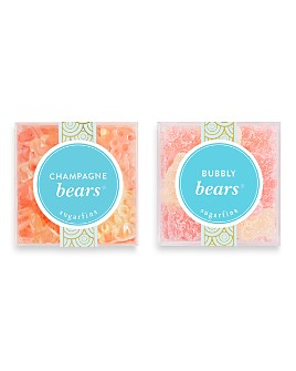 Sugarfina - Champagne Bears + Bubbly Bears Large Cube Bundle