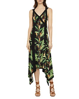 BCBGMAXAZRIA - Bird Of Paradise Strappy Midi Dress