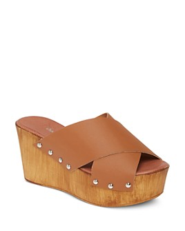 Charles David - Women's Fiji Cross Strap Platform Sandals