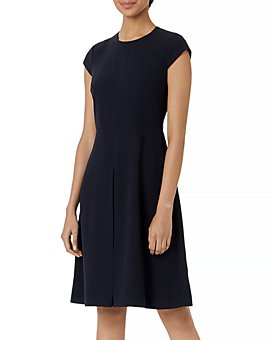 HOBBS LONDON - Henna Fit-and-Flare Dress