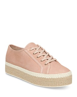 Vince - Women's Windell Lace Up Espadrille Platform Sneakers