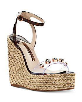 Sophia Webster - Women's Dina Gem Espadrille Wedge Sandals