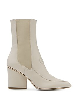 Salvatore Ferragamo - Women's Pointed Toe High Heel Boots