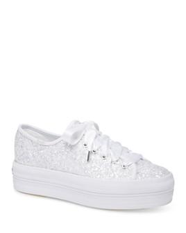 Keds - Women's Triple Up Glitter Sneakers
