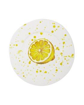 VIETRI - Melamine Fruit Lemon Dinner Plate