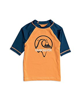 Quiksilver - Boys' Bubble Dreams Short Sleeve Rash Guard - Little Kid