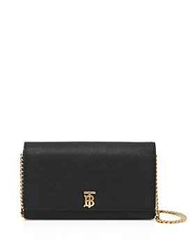 Burberry - Monogram Motif Leather Wallet with Detachable Strap