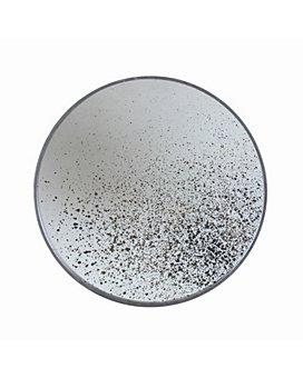 Notre Monde - Clear Round Mirror