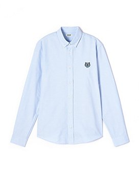 Kenzo - Men's Tiger Crest Button Front Shirt