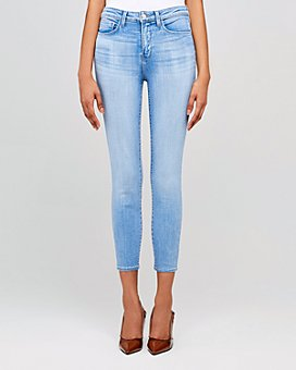L'AGENCE - Margot High-Rise Skinny Jeans in Bellevue