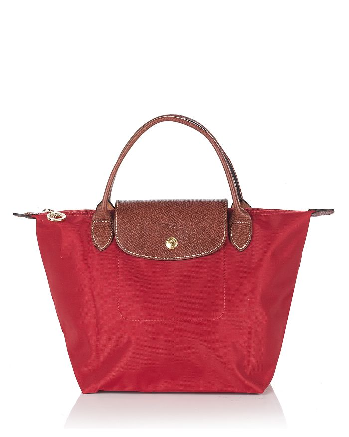 Longchamp - Le Pliage Small Top Handle Nylon Handbag